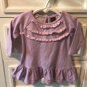 Tea purple dress - size 3-6m